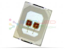 350ma High Brightness Smd Led Chip Wide Viewing Angle For Car Brake Tail Light