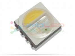 Surface Mount RGBW LED Chip Smd Led Component 6000 - 6500 K 80 - 120 MA Current