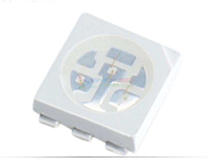 60 MA SMD UV LED Chip 40 - 60 MCD Luminous Flux 5050 UV LED CE Approved